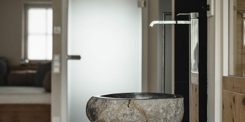 Perfekte Ausstattung in den Badezimmern der Chalets